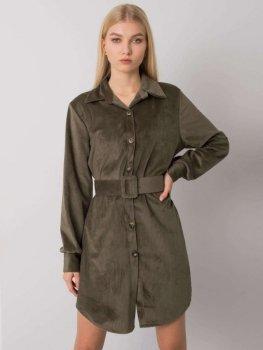 Sukienka-DHJ-SK-10333.12P-khaki [zul]